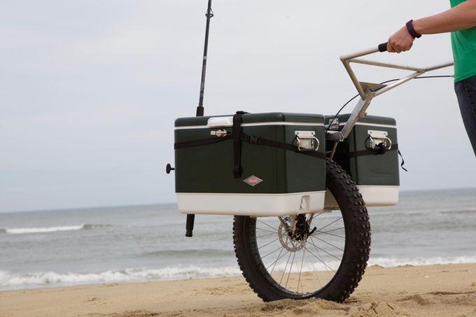 One-Wheel 'Honey Badger' Hauls Heavy Loads