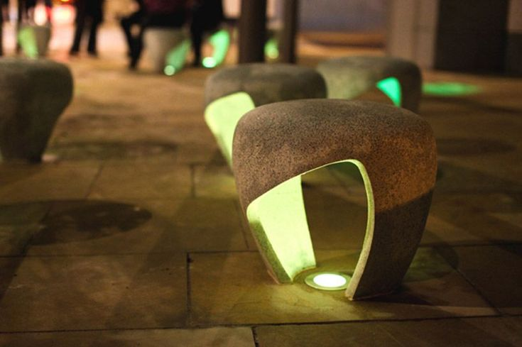 cool public art interactive | charlie davidson: sunniside public realm #LandscapingLighting