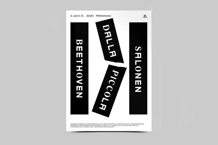 wantthatfont:  Bureau Mirko Borsche's season posters for Symphonieorchester des Bayerischen Rundfunks (1 of 3)   Mirko!!!!!!'