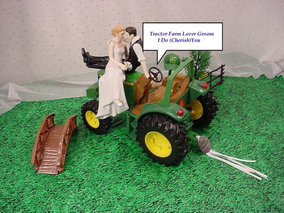 Green Outdoor Die Cast Farm Tractor County Lover by splendorlocity