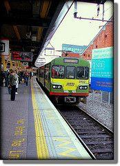 Dart on no7 platform Dublin Connolly