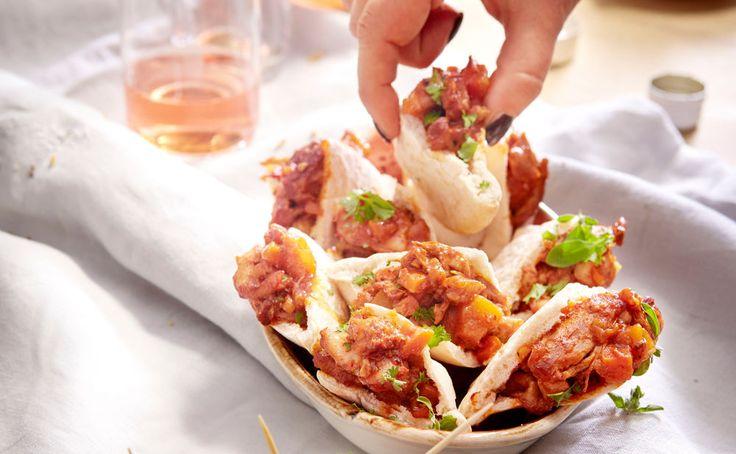 Von der Redaktion für Sie getestet: Pulled Chicken Pita. Gelingt immer! Zutaten, Tipps und Tricks