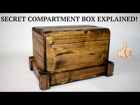 How to - Secret Compartment Box II: 4 Steps (with Pictures)