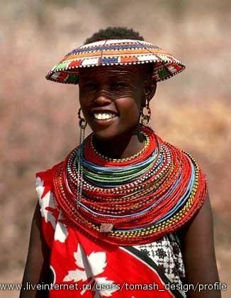 Национальные костюмы народов африки