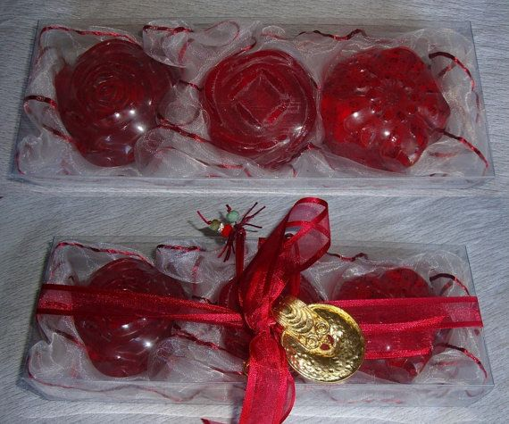 Watermelon Elegant Gift Set for Women with by JoannasScentedSoaps