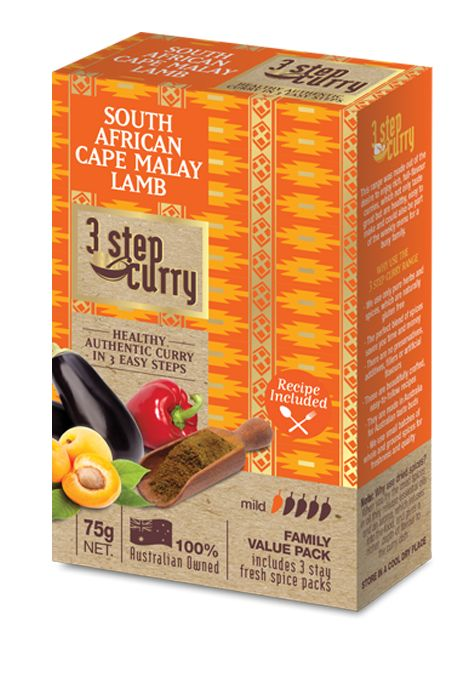 South African Cape Malay Lamb « 3 Step Curry