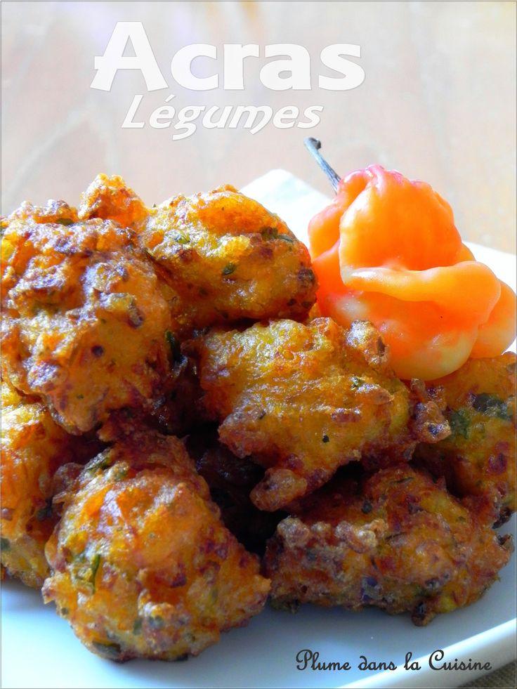 Les acras de légumes - une plume dans la cuisine