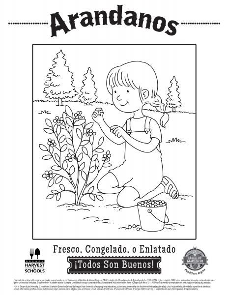 The 142 best Coloring Sheets - English and Spanish - Food Hero ...