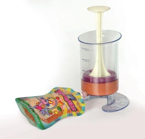 Fill N Squeeze - Gør det let at håndtere hjemmelavet babymad eller smoothies til større børn - Børn i hjemmet - Faktiskpraktisk.dk
