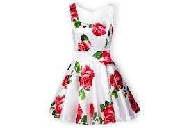 Resultado de imagen para vestidos floreados juveniles