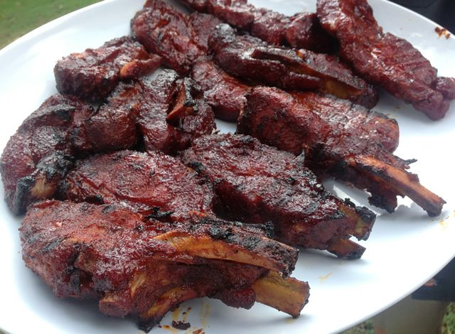 how to cook pork ribs in the smoker