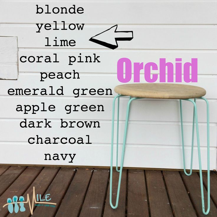 Orchid goes with...