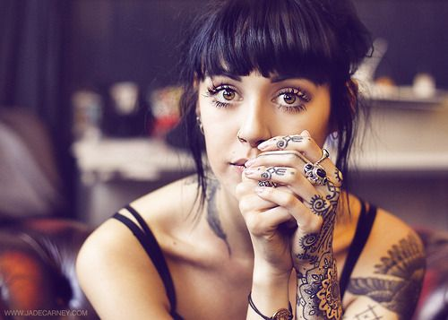 Hannah Snowdon is ridiculously beautiful and I love her hair always!