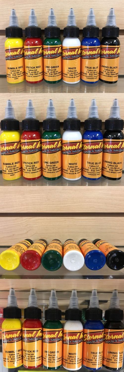 Tattoo Inks: Eternal Tattoo Ink 6 Color 1 Ounce Professional Starter Set 100% Authentic Hot -> BUY IT NOW ONLY: $90.67 on eBay!