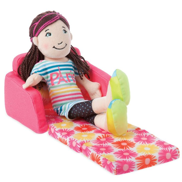 Doll Chair Accessory, Groovy Girls Fabulous Sleeper Chair By Manhattan Toy | Manhattan Toy