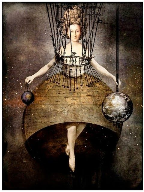 """You can know the false only. The true you must yourself be."" ~Nisargadatta Maharaj ~'The World' by Catrin Welz-Stein"