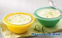 Receita muito fácil de mousse de limão falso para a dieta dukan, uma sobremesa logo para a fase ataque.