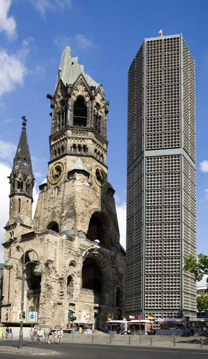 Kaiser Wilhelm Memorial Church Berlin, Germany