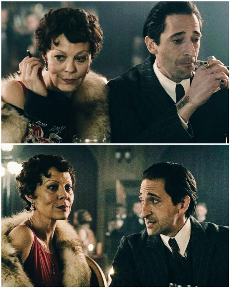 Luca&Polly #peakyblinders #adrienbrody #helenmccrory #pollyshelby #lucachangretta #gangsters #photoshoot #photography