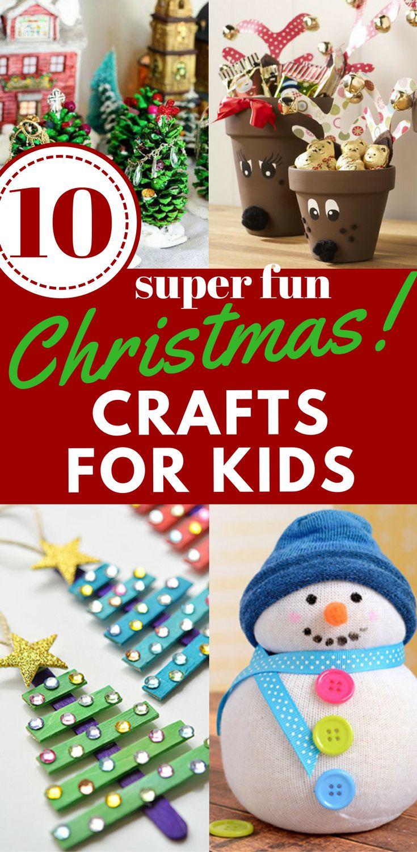 Christmas crafts, craft ideas for kids, Christmas decor