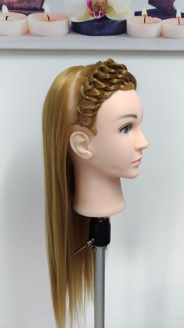 Peinado Diadema con Círculos
