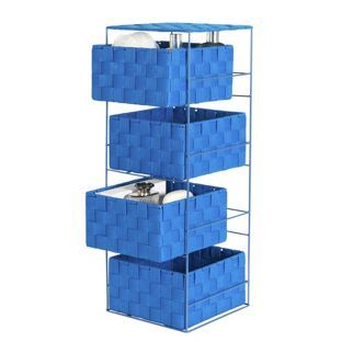 Buy ColourMatch 4 Drawer Storage Unit - Marina Blue at Argos.co.uk, visit Argos.co.uk to shop online for Bathroom shelves and units, Bedroom and bathroom furniture,…
