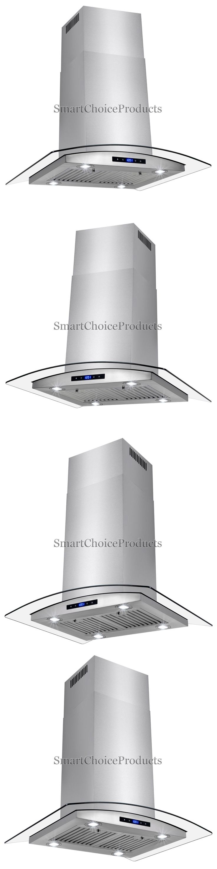 Range Hoods 71253: 36 Kitchen Island Mount Canapy Stainless Steel Range Hood Vent Baffle Filters -> BUY IT NOW ONLY: $249.99 on eBay!