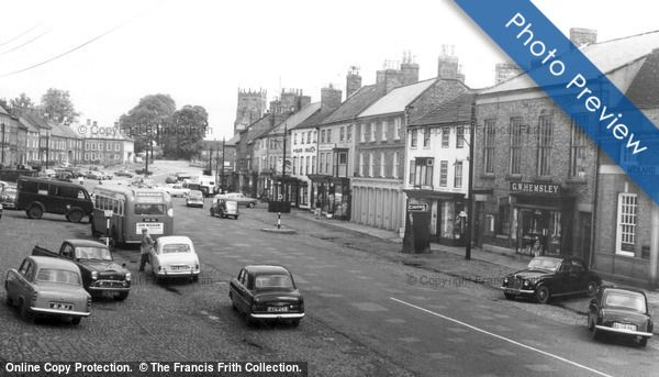 Photo of Photo of Bedale, Market Place c.1960