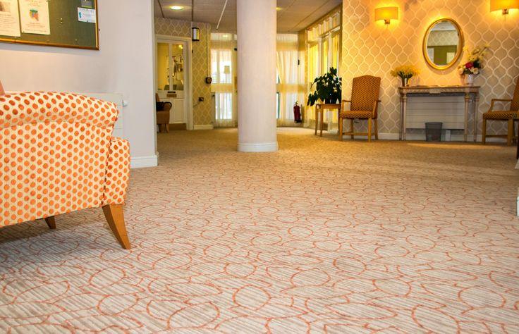 Bespoke Axminster carpet by Cavalier Carpets