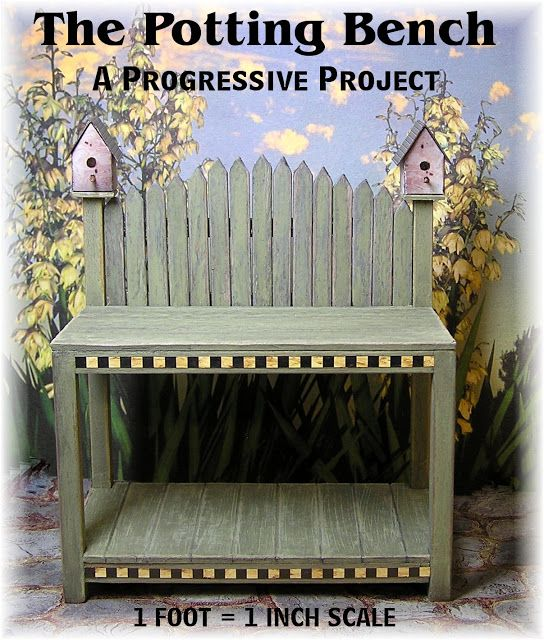 This site has the most amazing (and free) DIY Dollhouse Miniature Furniture and accessories - Tutorials. Many of these ideas can also be used in fairy gardens.