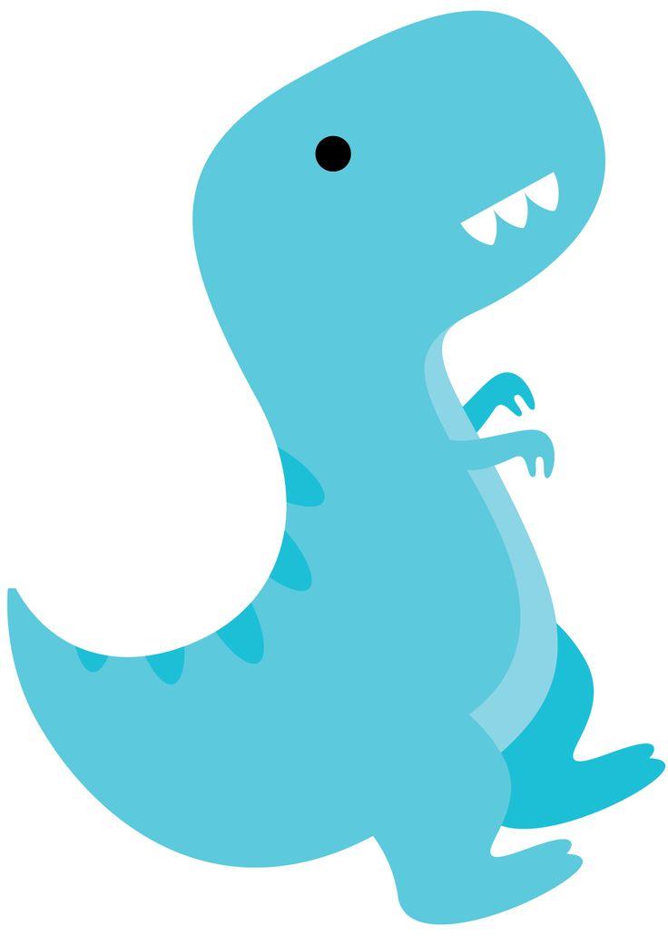 Dinosaurio Tirano Rex, Molde para piñata, molde para circulares, banners, lindo azul, dinosaurios