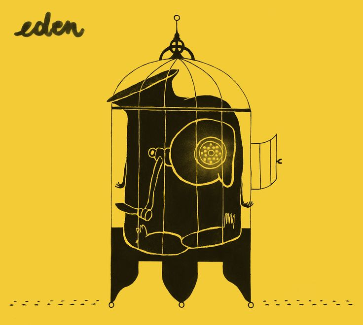 Cover for Ampacity's album 'Eden' - digibook