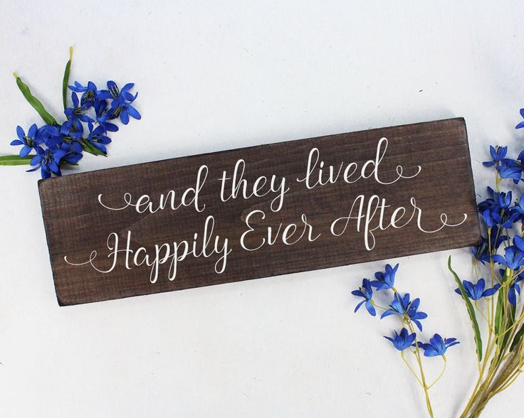 And They Lived Hily Sign Ever After Rustic Here Comes The Bride Wedding