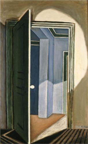 The open door - Nikos Hadjikyriakos-Ghikas