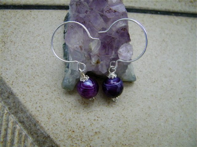 purple stones | Purple Agate Stone Meaning