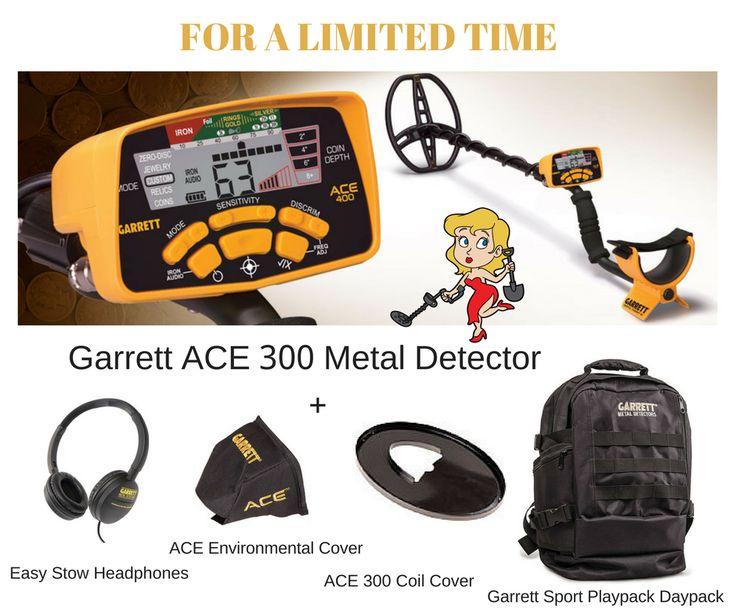 GARRETT ACE 300 METAL DETECTOR