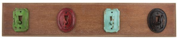General Eclectic Iron Key Hooks APR10.5x52cm