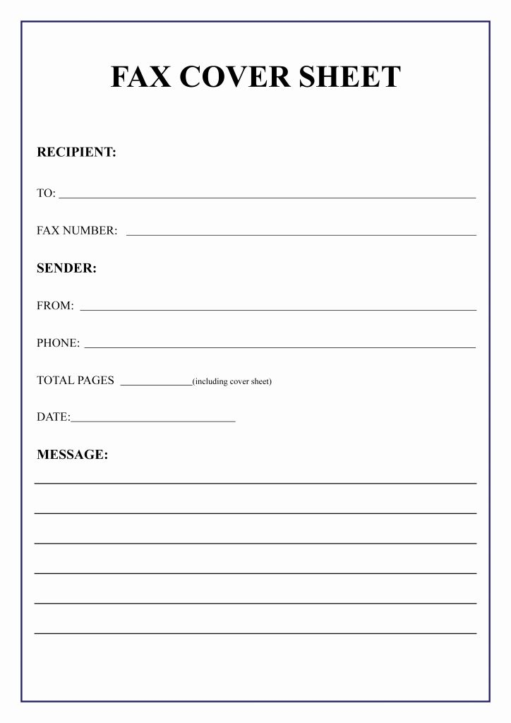 Fax Sheet Template Word from i.pinimg.com