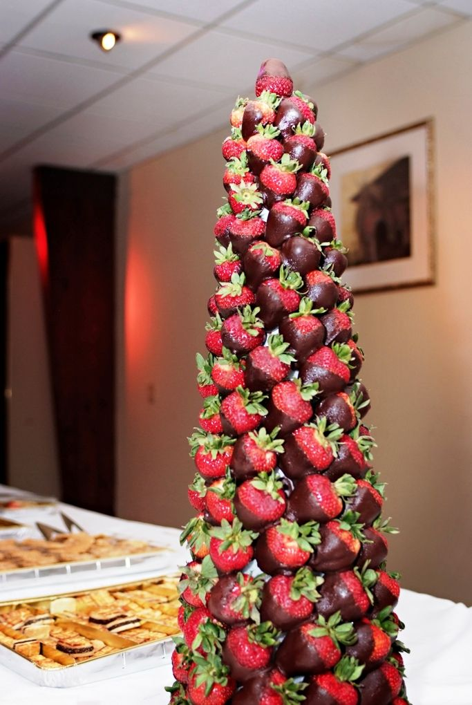 Strawberry tree centerpiece sweet treats pinterest