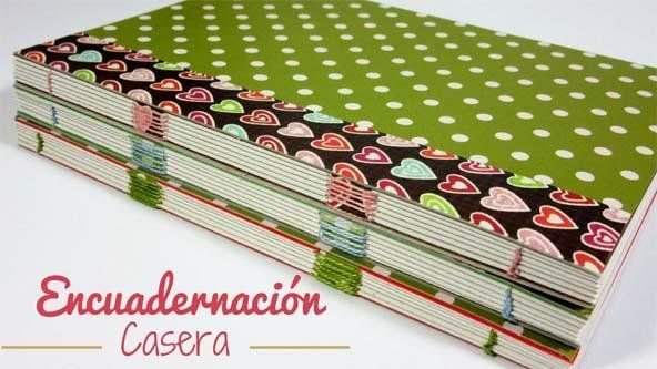 Hoy vamos a aprender gracias a este tutorial a realizar una encuadernación casera para cuadernos de 120 páginas.
