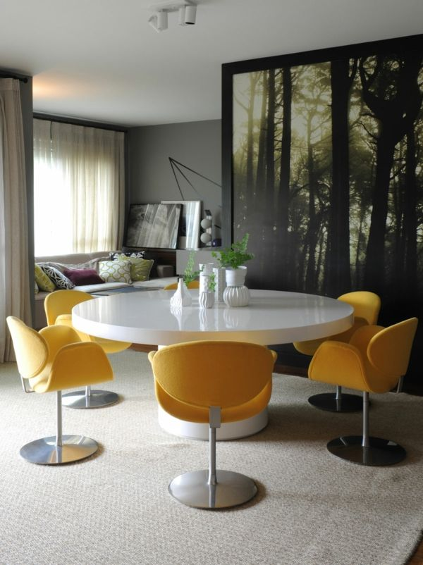 Las 25+ mejores ideas sobre Ausgefallene tapeten en Pinterest - wohnzimmer tapeten weis