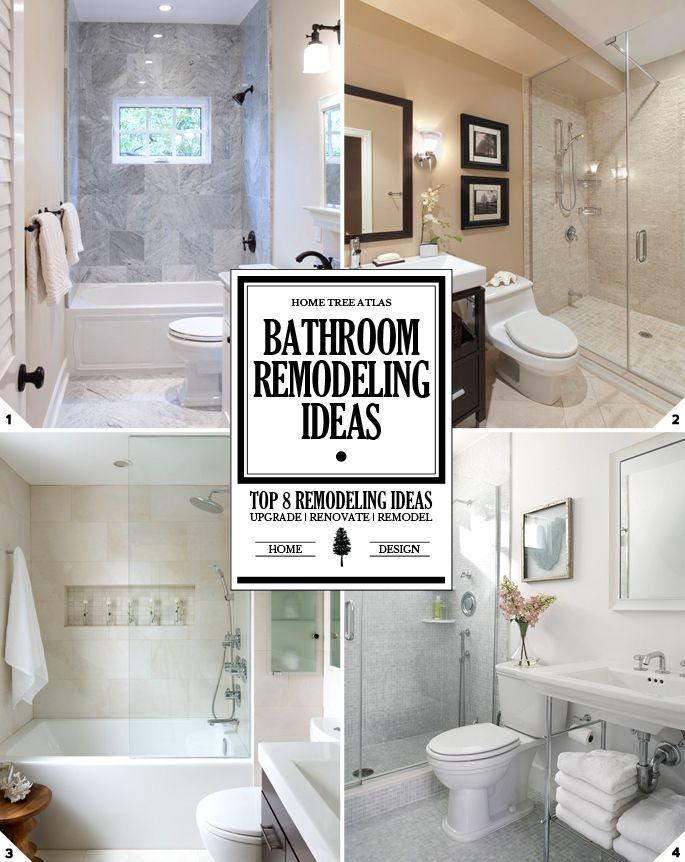 Ideas For Remodeling A Bathroom Gorgeous Inspiration Design