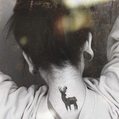 Deer Tattoo. :)