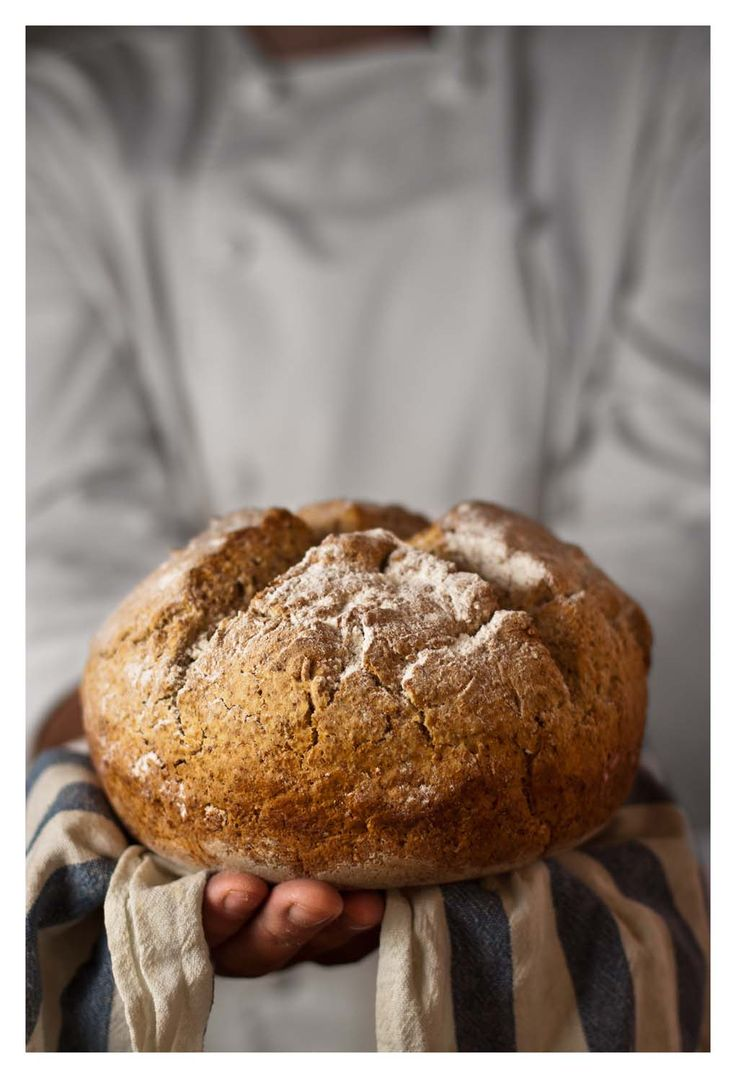 IRISH SODA BREAD: pan de bicarbonato irlandés