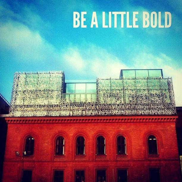 Be a little bold. #birdsnestmeets1910 #bold #architecture #denmark #copenhagen #norrebro #contemporary #classic #birdsnest by @dadailydo, via Flickr
