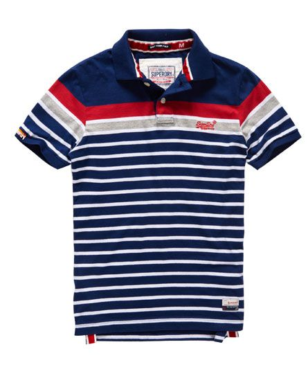 Superdry Polo Drift Stripe                                                                                                                                                     Más