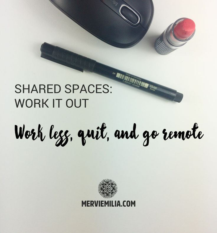 Did you know that you are more likely to get a raise if you work less than if you overwork? Why you should quit if your business is struggle? Why work only remote? And which skills are useful even in the automated future? Check out this week's Shared Spaces!