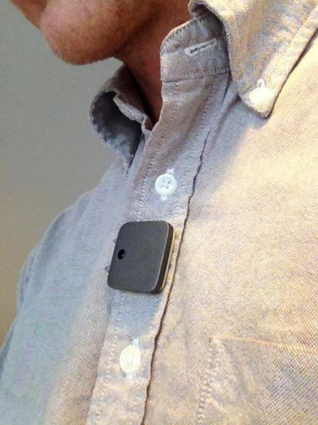 Memoto Lifelogging camera..... wearable technology