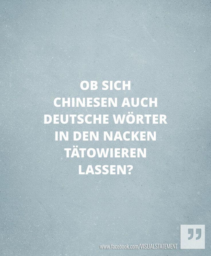 Chinesen mit deutschen Wörtern?