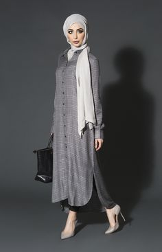 Smart Tweed Shirt Dress | Aab
